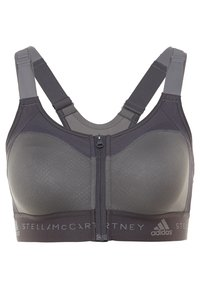 adidas by Stella McCartney - MASTECTOMY CLIMALITE BRA - Sports bra - grey five/utility black - 0