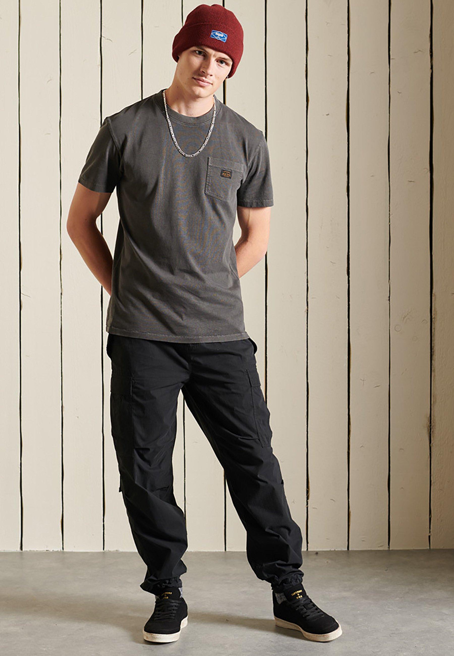Men ORGANIC VINTAGE WORKWEAR POCKET  - Basic T-shirt