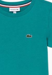 Lacoste - TURTLE NECK - T-shirt - bas - niagara - 3