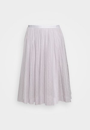 KISSES MIDI SKIRT EXCLUSIVE - A-Linien-Rock - dusk blue