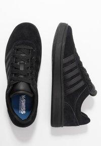K-SWISS - COURT CHESWICK - Trainers - black - 3