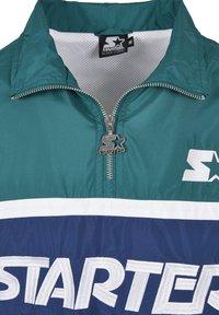 Starter - RETRO - Windbreaker - retro green/blue night/white - 6