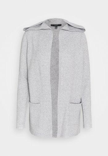 VMDOFFY OPEN - Cardigan - light grey melange