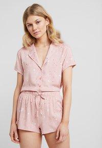 Even&Odd - SET - Pyjama set - white/rose - 4