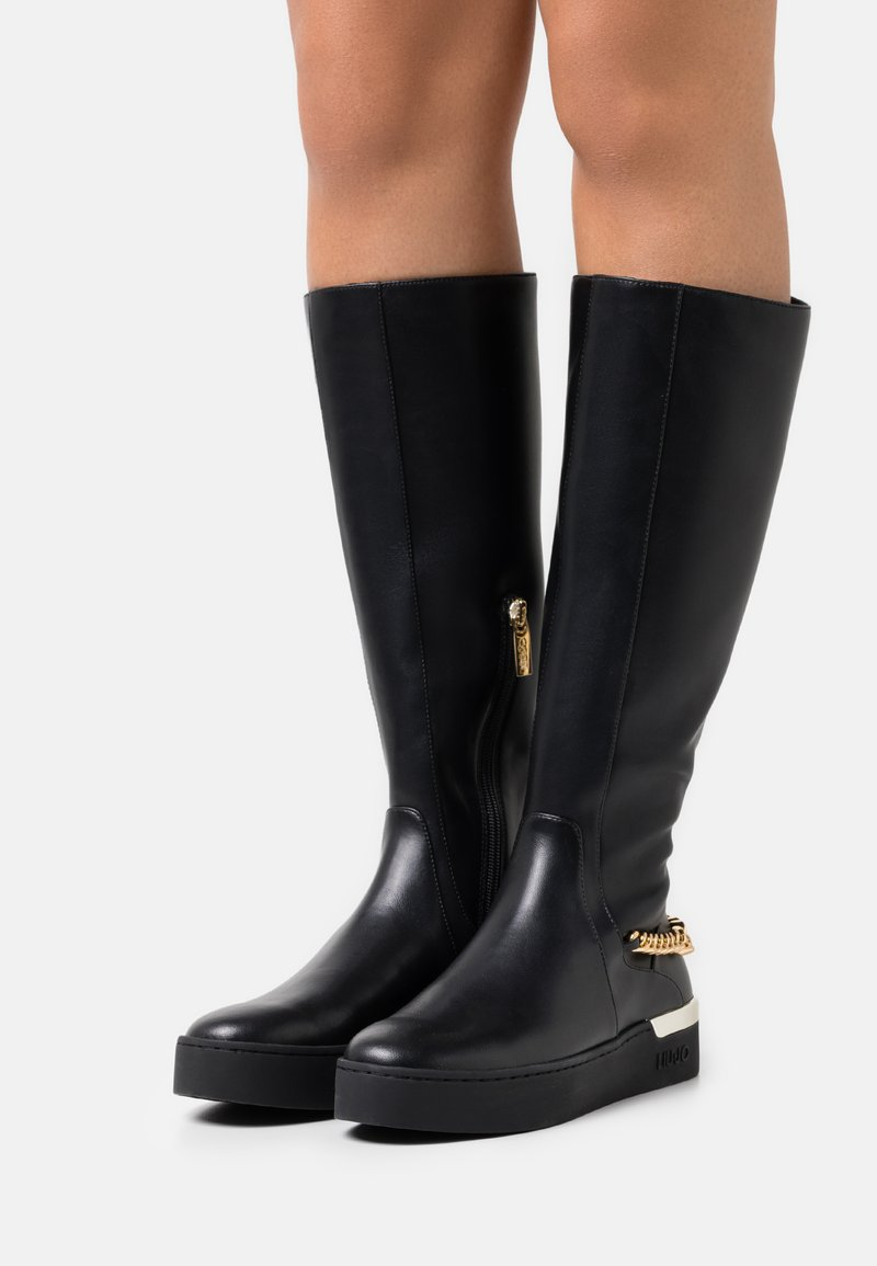Liu Jo Jeans - SILVIA  - Platform boots - black