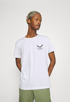 Makia x Olle Eksell Smile T-Shirt - T-shirt print - white