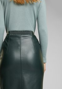 Esprit - Pencil skirt - dark green - 4