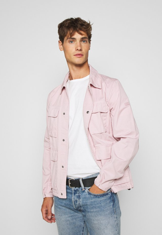 DION CASUAL - Summer jacket - dusk pink