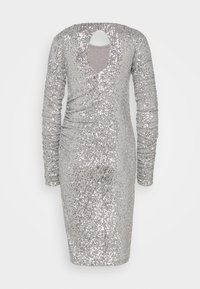 Patrizia Pepe - ABITO DRESS - Cocktail dress / Party dress - silver - 1