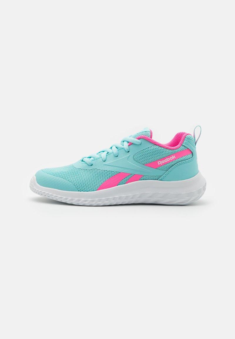 Reebok - RUSH RUNNER 3.0 UNISEX - Neutral running shoes - pink/white