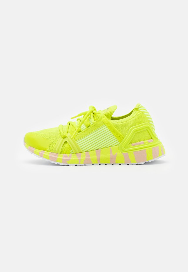ULTRABOOST 20 S. - Chaussures de running neutres - acid yellow/pearl rose