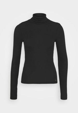 SLIM TURTLE  - Long sleeved top - black