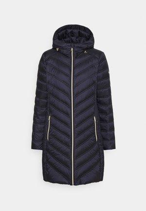 LONG PACKABLE PUFFER - Down coat - dark navy