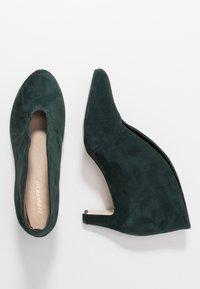 Anna Field - LEATHER - Ankelstøvler - dark green - 3