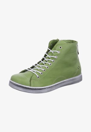 High-top trainers - grn