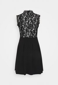 WAL G. - SKATER DRESS - Day dress - black/white - 1