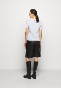 MCM - CLASSIC CREW - Print T-shirt - light blue - 2