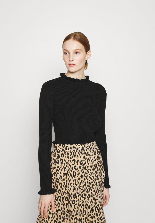 ABELA JUMPER - Sweter - schwarz