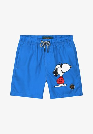 SNOOPY GRIN JOE - Swimming shorts - electric blue