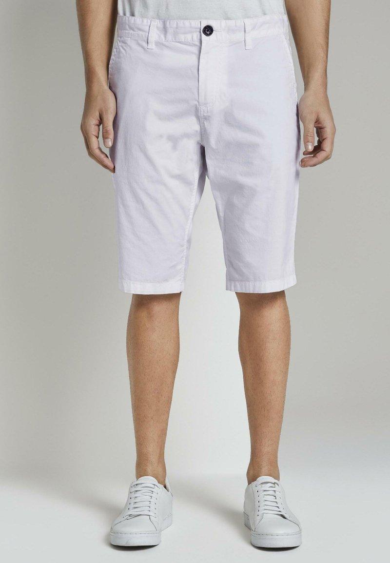 TOM TAILOR - Shorts - white