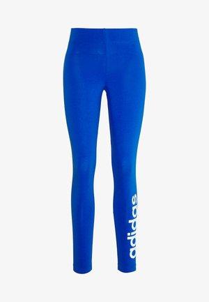 LIN - Legging - blue/white
