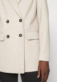 Dorothy Perkins - DOUBLE BREASTED COAT - Short coat - oatmeal - 5