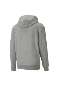 Puma - REBEL  - Felpa aperta - medium gray heather - 1
