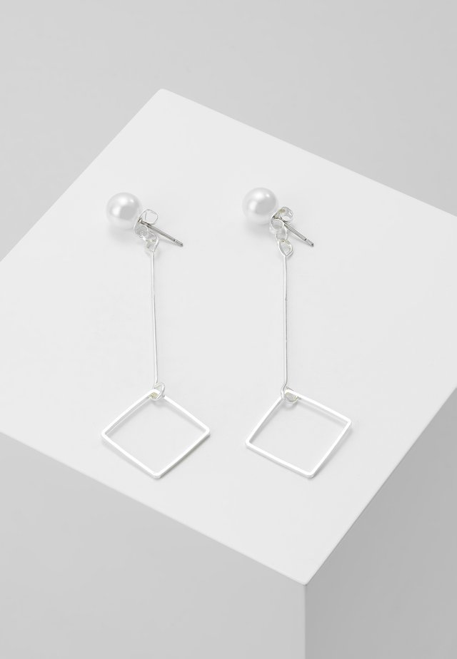 TJORVEN - Earrings - silver-coloured