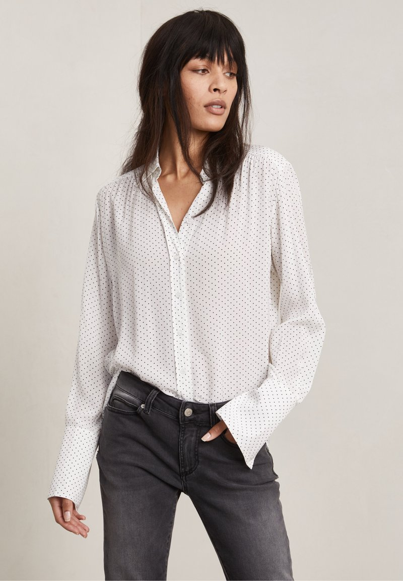 Hunkydory - FORD - Button-down blouse - off-white aop