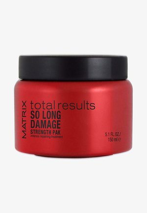TOTAL RESULTS SO LONG DAMAGE MASKE - Hårinpackning - -