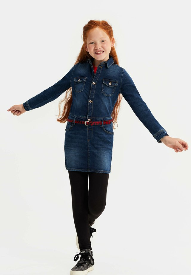 Robe en jean - dark blue