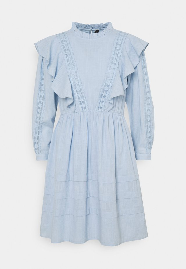 YASFARUS 7/8 DRESS - Kjole - cashmere blue