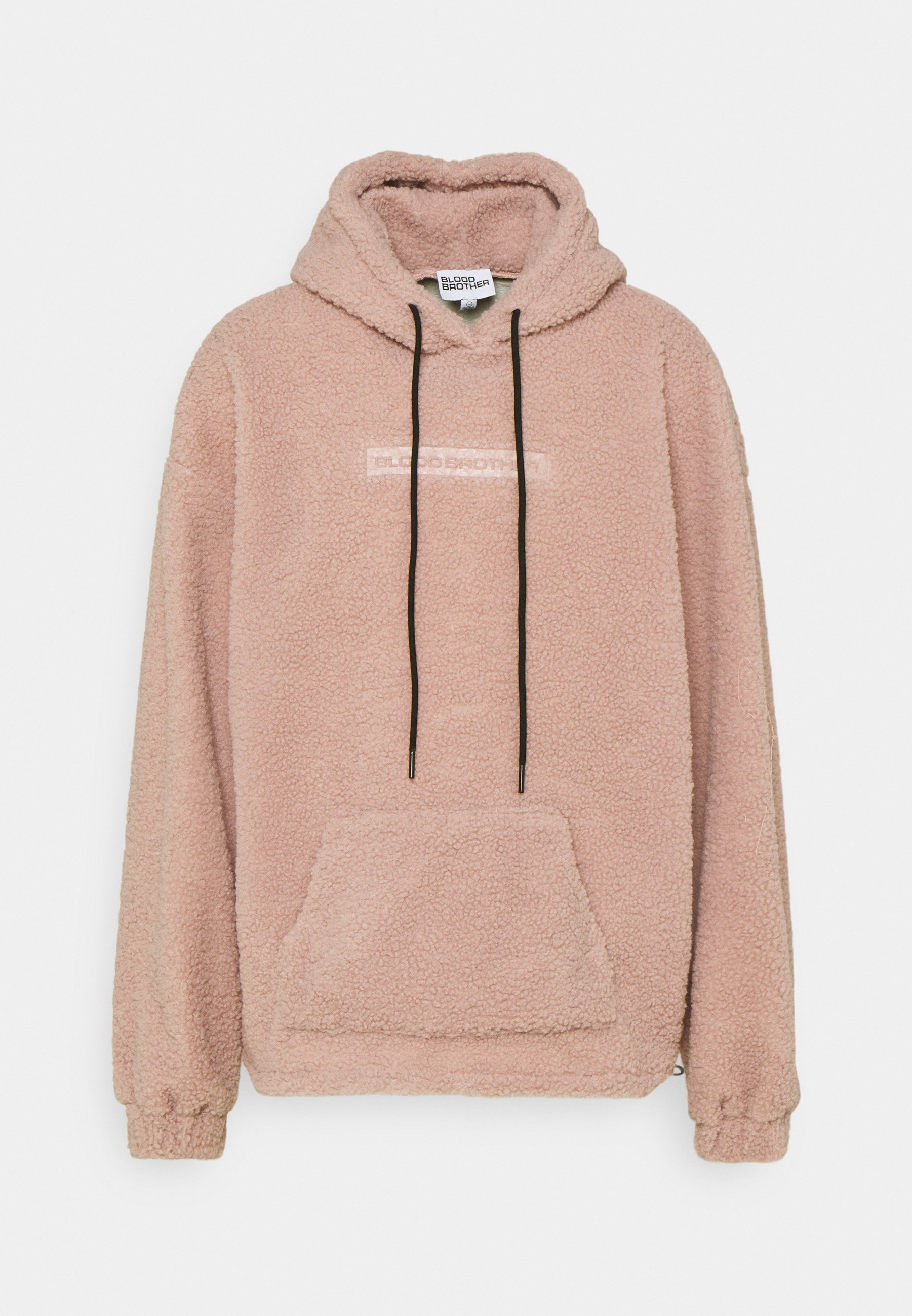 Mujer BORG EMBOSSED BRANDED HOODIE UNISEX - Jersey con capucha