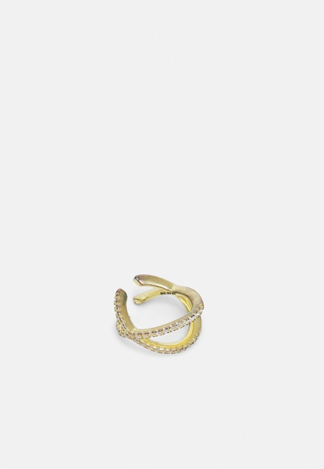 STACEY PAVE EAR CUFF - Korvakorut - gold-coloured