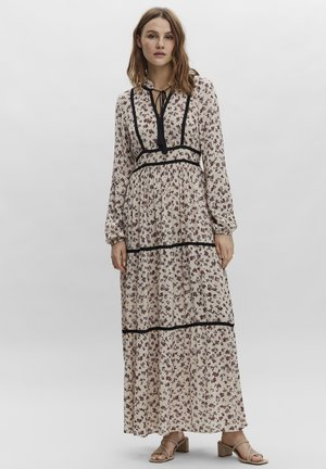 ANCLE - Maxi dress - oatmeal