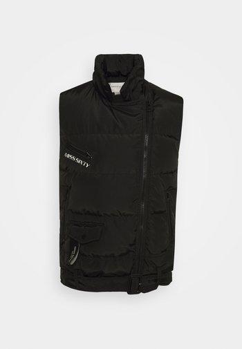 VEST - Waistcoat - black