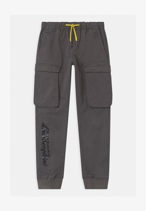 LOGOSCRIPT SPORTY - Cargo trousers - grey telesto