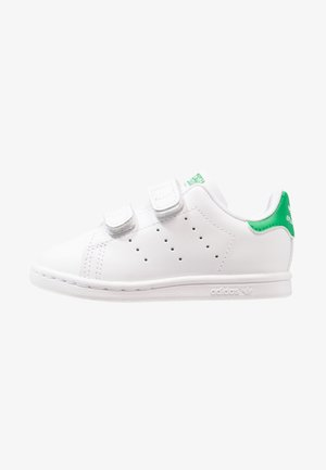 STAN SMITH CF I - Lær-at-gå-sko - white/green