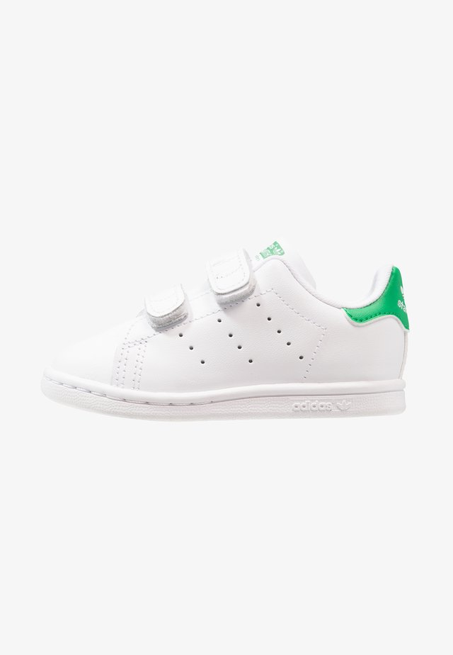 STAN SMITH CF I - Lära-gå-skor - white/green