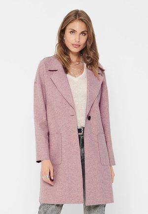 Short coat - misty rose