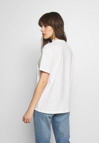 Moss Copenhagen - LIV - T-shirts print - egret - 2