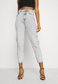 Gina Tricot - DAGNY HIGHWAIST - Relaxed fit jeans - bleached grey - 0