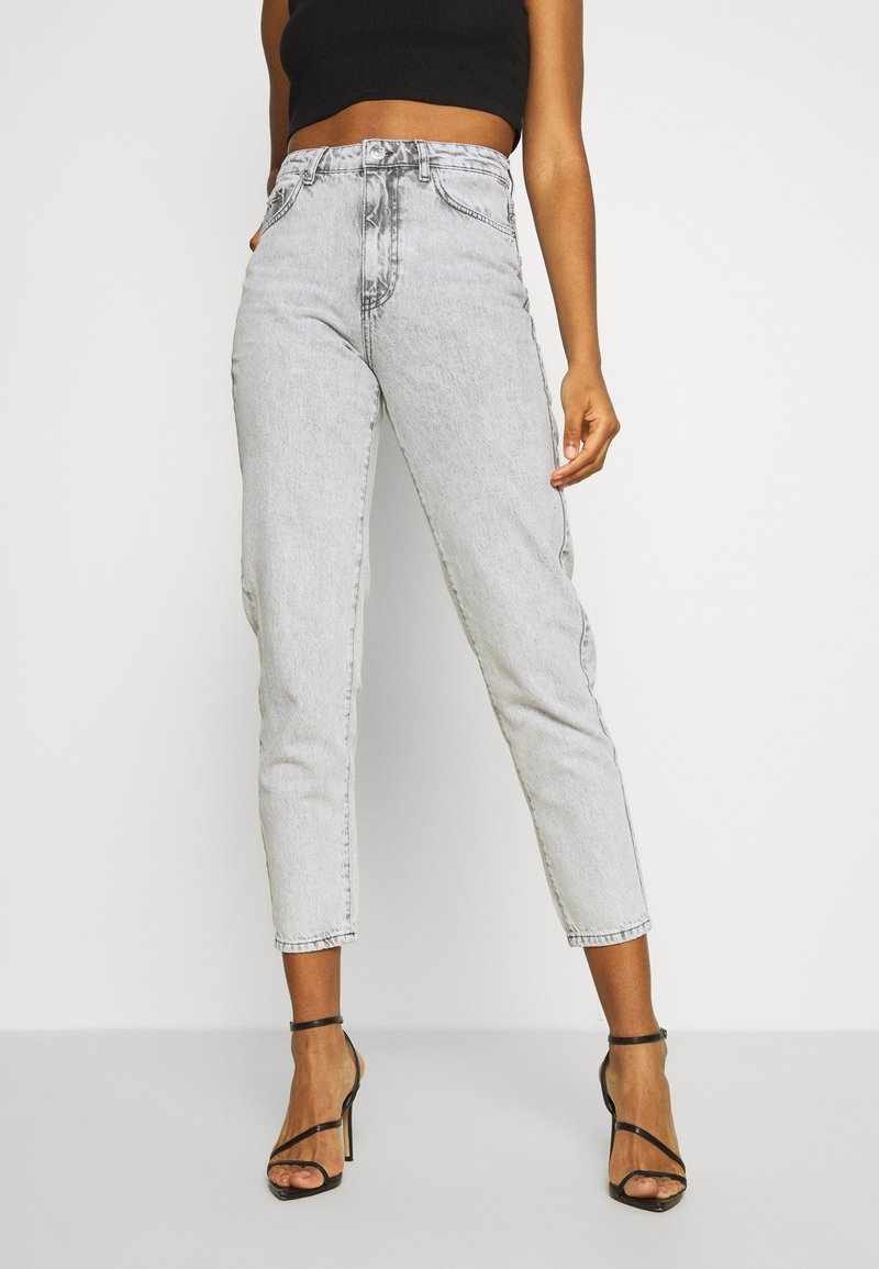 Gina Tricot - DAGNY HIGHWAIST - Relaxed fit jeans - bleached grey