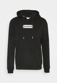 SLHREGJAMES HOOD - Hoodie - black
