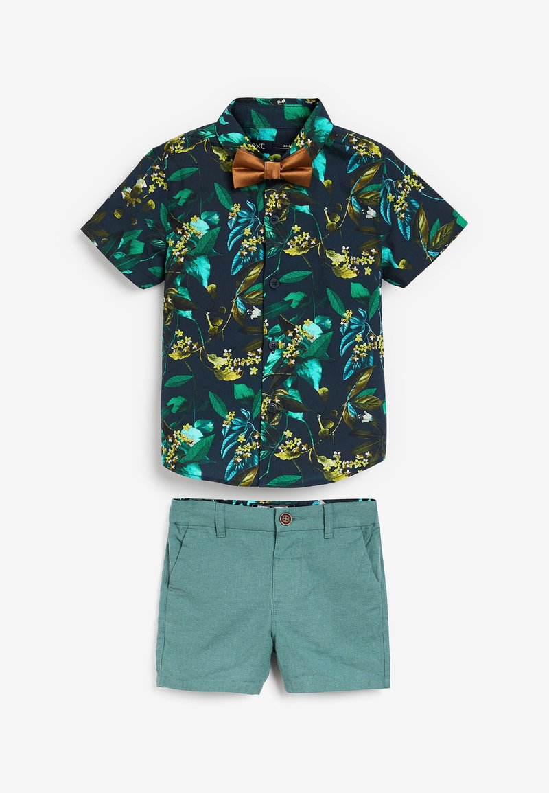Next - SET - Shorts - green/brown