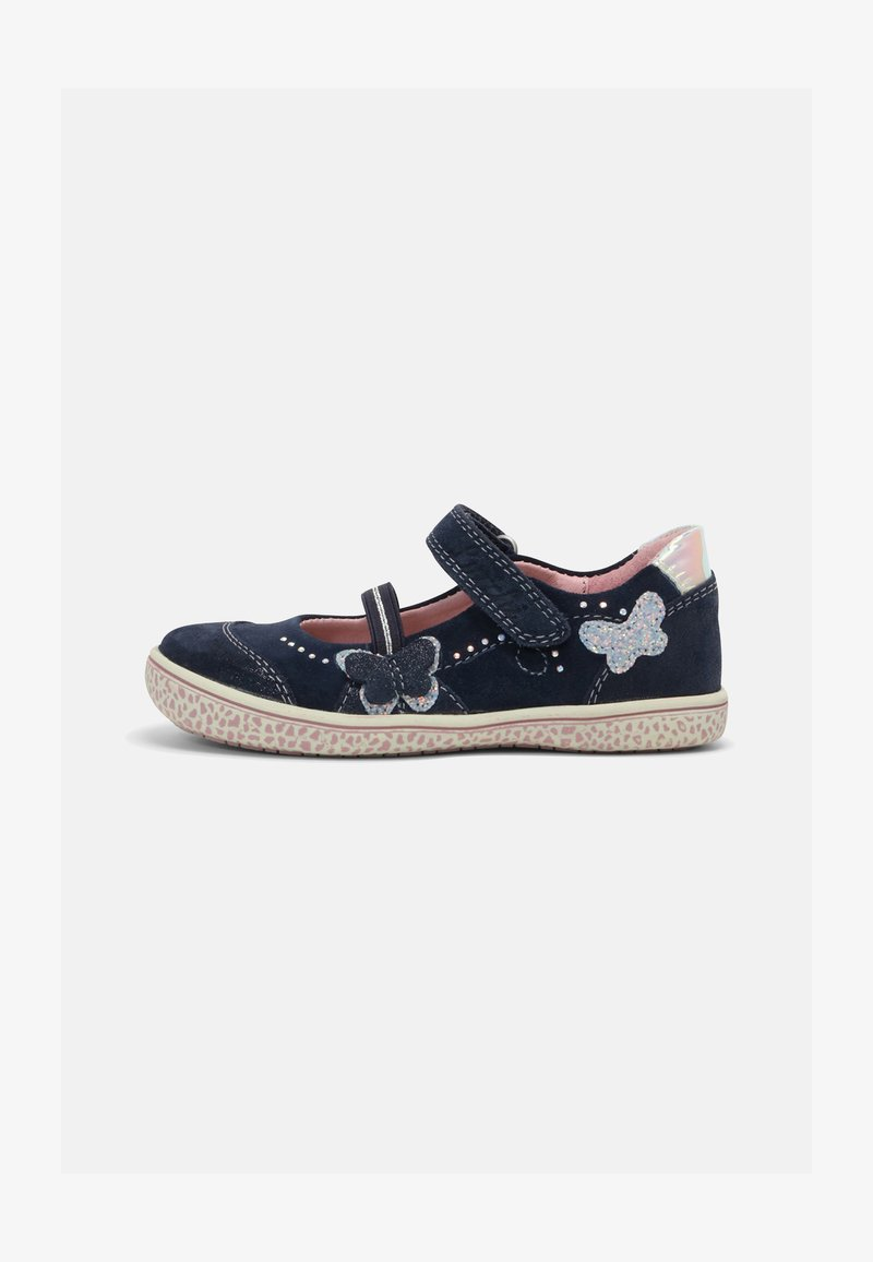 Lurchi - TARY - Ankle strap ballet pumps - navy