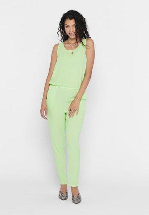 Jumpsuit - pastel green