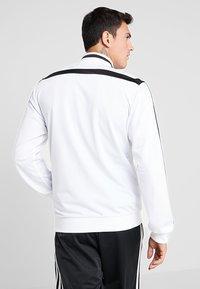 adidas Performance - JUVENTUS TURIN SUIT - Club wear - white/black - 2