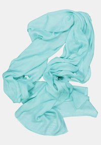 GINA LAURA - FRANSENKANTEN - Halsduk - turquoise - 1