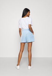 Pieces - Shorts - blue bell - 2